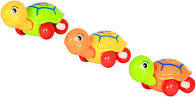 Ole Baby Clockwork Spring Cartoon Cute Gliding Animals Windup Turtle Toy Small Cochain Toys Children'S Early Educational Toys For Infants Toddlers 3 Pcs