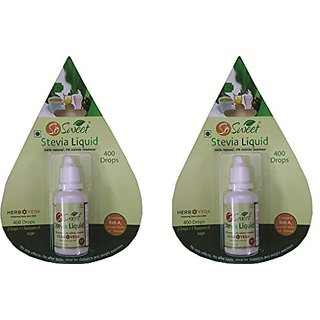 So Sweet Stevia Liquid Pack 2-800 Drops 100 Natural Sweetener Sugarfree