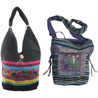 Unique Indian Crafts Jhola Bag (COMBO)