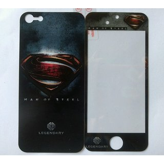 Designed Screen Guard Screen Protector Front  Back for iphone 5/5s