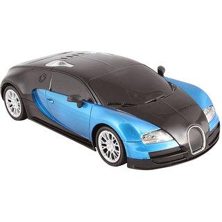Bugatti Veyron Rechargeable Remote Control 1 24 Model Car (Black-Blue, Black-Red)