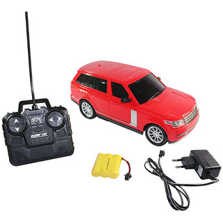 Remote Control Rechargeable Range Rover - (Black, RED)