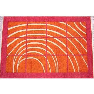 Buy Home Elite Ethnic Velvet Touch Abstract Chenille Carpet.. Online - Get 0% Off