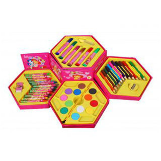 Fantasy India Colouring Kit For Kids - 46 Piece