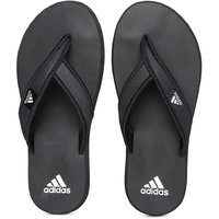 Adidas Men's Rio Black Slippers & Flip Flops