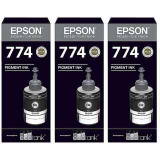 Epson 774 Black Ink Pack of 3
