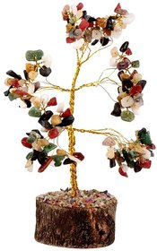 Petrichor Fengshui Multi Gem Stone Good luck Tree - Home / Office Decor or Gifts