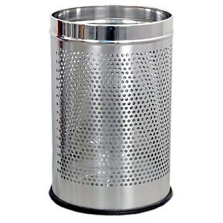 KS Stainless Steel Dustbin