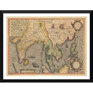 Buy Tallenge Decorative Vintage World Map India Orientalis