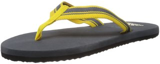 Adidas Men's Adze Yellow Flip Flops and House Slippers