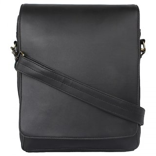 P  Y Fashion 100 SYNTHATIC LEATHER 12 inch Laptop Messenger Bag