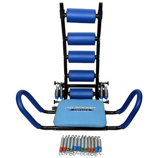 ibs 22 in 1 heavy duty imported six pack abdominal care gym ab rocket twister home fitness gym platinum body gym zone