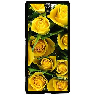 Fuson Designer Phone Back Case Cover Sony Xperia C5 Ultra Dual ( Bunch Of Yellow Roses )