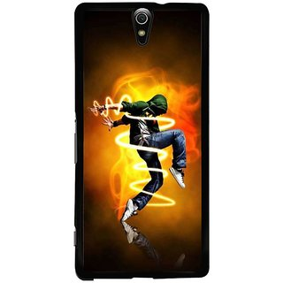 Fuson Designer Phone Back Case Cover Sony Xperia C5 Ultra Dual ( Contemporary Dance By Boy )