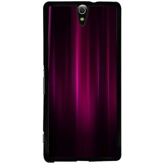 Fuson Designer Phone Back Case Cover Sony Xperia C5 Ultra Dual ( Beautiful Hue Of Pink And Purple )