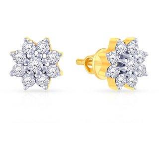 4e1192a73b24e Buy Mine Diamond Earring E73007 Online   ₹29473 from ShopClues