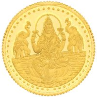 999 Purity 10 Gms Laxmi Gold Coin MGLX999P10G