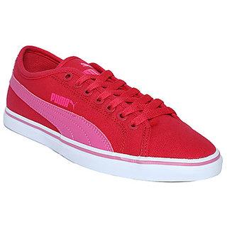 Buy Puma Men Elsu V2 CV DP Red And Pink Sneakers Online   ₹2499 ... 19b8bdb2e