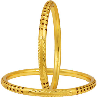 Jewels Galaxy Designer Gold Plated  Bangles