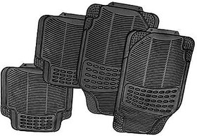 love4ride Universal Car Black Footmats And Non Slip Mat by Carpoint