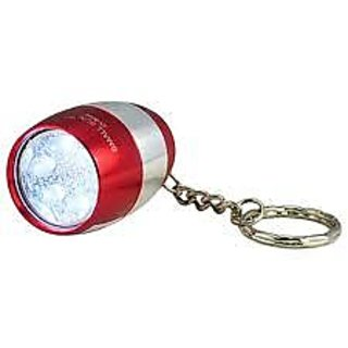6 Led Metal Super Bright Torch Light Keychain