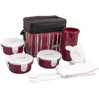 Nayasa HMILB14 4 Containers Lunch Box  500 ml