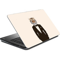 Walrus Lion Man Laptop Skin