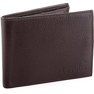 Le Alba Brown Casual Regular Wallet