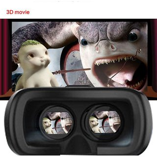 3D VR BOX 2 0 Virtual Reality 3D Glasses games movies Headset with remote