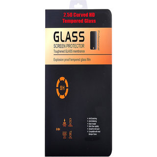 9H Curved Edge HD Tempered Glass for Micromax Canvas Mega E353