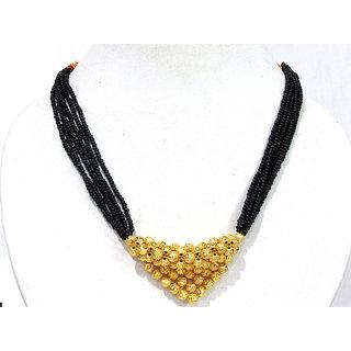 Golden Ball Pendant Mangalsutra Necklace