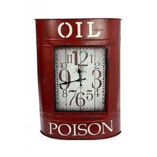 Oil Tank Clock