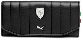 Puma Black Clutch Wallet For Women