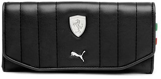 Puma Black Clutch Wallet For Women