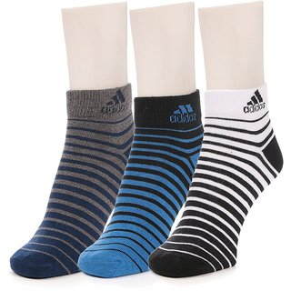 Adidas Ankle Socks Set Of 3 Pairs