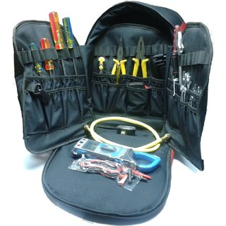 Mighty Mounts Hvac Professional Heavy Duty Tool Bag With Standard Tools