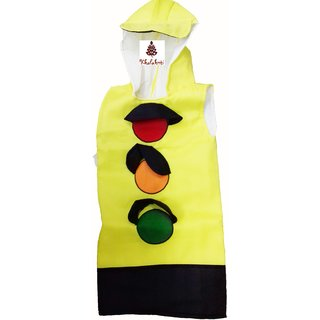 Traffic Signal Red Light Fancy Dress Costume For Kids  sc 1 st  Shopclues & Buy Traffic Signal Red Light Fancy Dress Costume For Kids Online ...