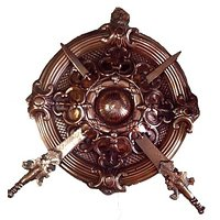 Metal Collectible Fine Wall Hanging Dhal Decorative Handicraft   BY vyomshop