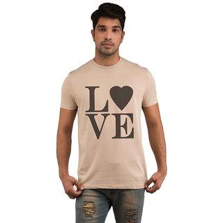 Snoby Valentine Love  printed t shirt