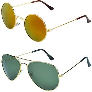 de3ea06c2c Buy Zyaden Combo of Round And Clubmaster Sunglasses (Combo-193) Online - Get  79% Off