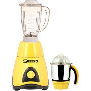 Sunmeet 750 Watts Mixer Juicer Grinder with 2 Jar (1 Juicer Jar without filter and 1 Chuntey Jar) Direct Factory Outlet, Save On Retailer margin.