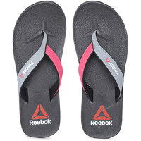 Reebok Women Grey  Pink Adventure Flip-Flops