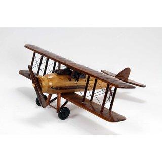 Wooden Airplane Showpiece