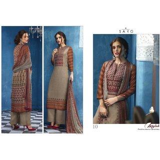 Designer ladies suits (Unstitched)
