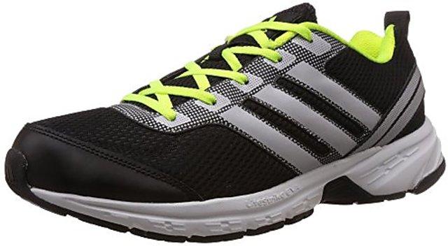 Buy Adidas Mens Black \u0026 Silver Running