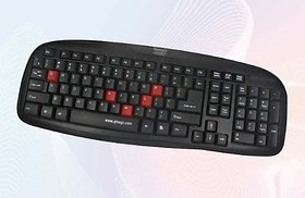 Quantum QHM7408M usb Multimedia Keyboard