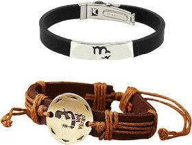 ALPHA MAN ZODIAC VIRGO SUNSIGN  ThreadWoven Bracelet