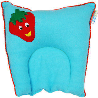 aurraa Baby Head Pillow Blue Strawberry