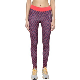 Piranha Women Multicoloured Printed Yoga Pants