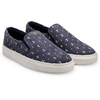Juan David Men Blue Slip On Casual Shoes - 107812618